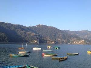 Fewa Lake and Boat