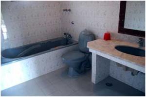 Deluxe Room Bath room view