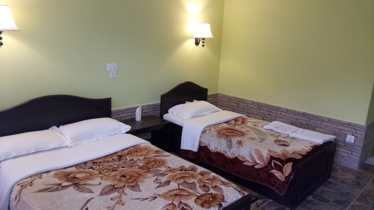 Rooms Types at Hotel New Pokhara lodge - Lakeside