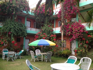 Hotel with Flowers