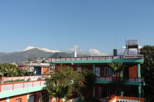 Hotel and Mountain View