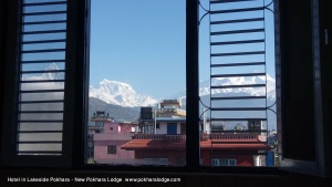 Mountain view from Room