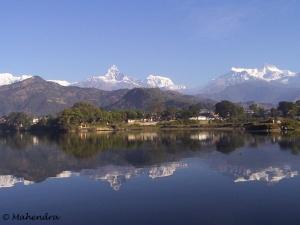 Pokhara, Nepal - New Pokhara Lodge Lakeside
