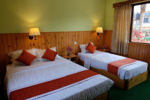 Deluxe Room at the hotel in Lakeside Pokhara - New Pokhara Lodge