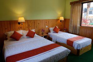 Rooms at hotel in Lakeside Pokhara - New Pokhara Lodge