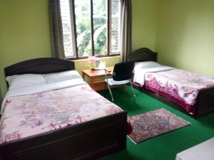 Photo of a Standard Single, Double and Twin Room of a Hotel in Lakeside Pokhara Nepal. New Pokhara Lodge