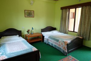 Photo of a Standard Room of a Hotel in Lakeside Pokhara Nepal.