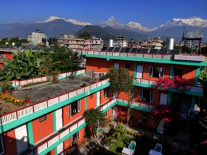 Beautiful hotel in Pokhara
