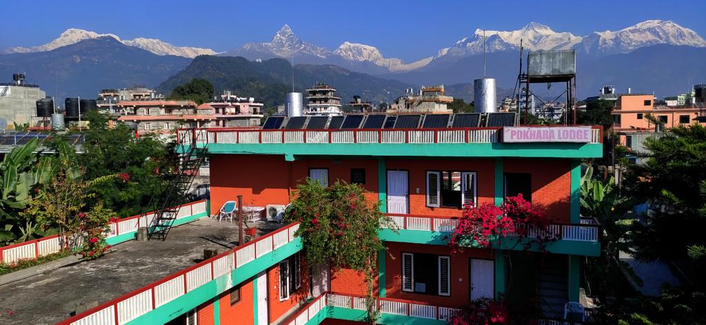 Beautiful hotel in Pokhara
