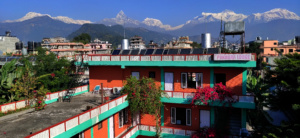 Piękny hotel w Lakeside Pokhara, Nepal